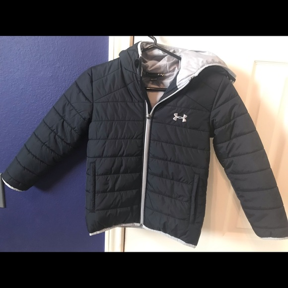 55615b87ecc6 Boys Under Armour puffer jacket. M 5c460294bb761546ed7e05b4
